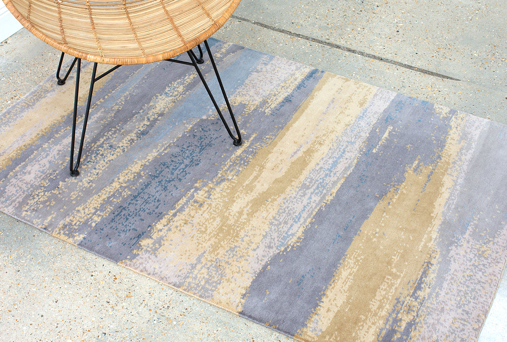Claire Gaudion Contemporary Modern Rugs | Fontenelle Rug | Island Rhythms Collection