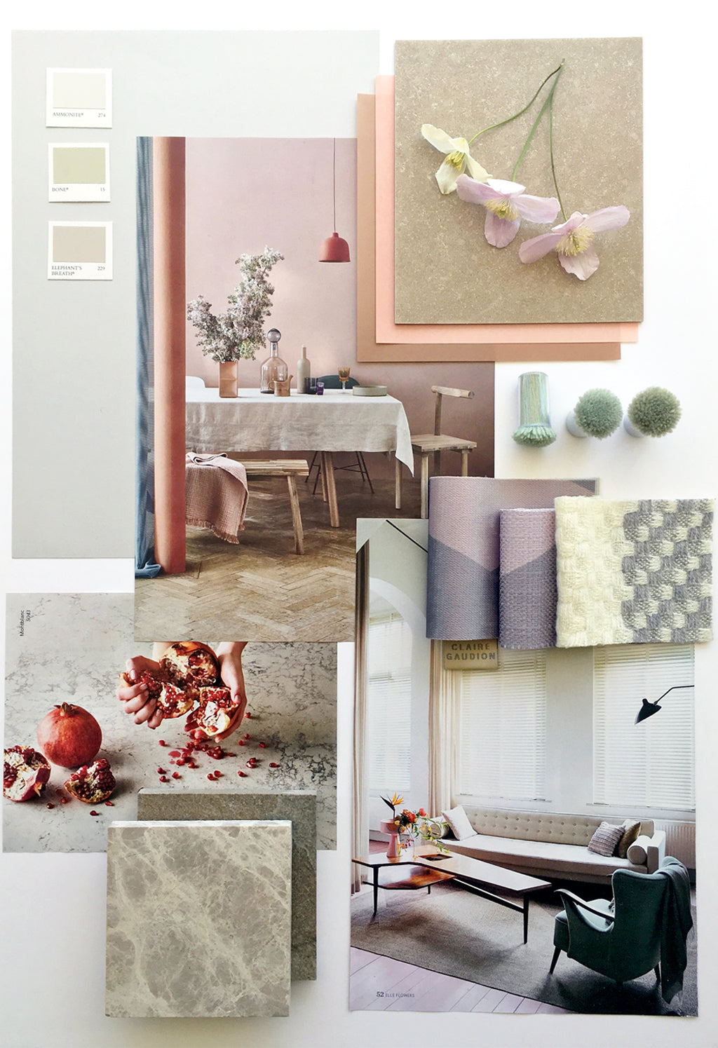 Workshop: Mood Boards for Interior Design