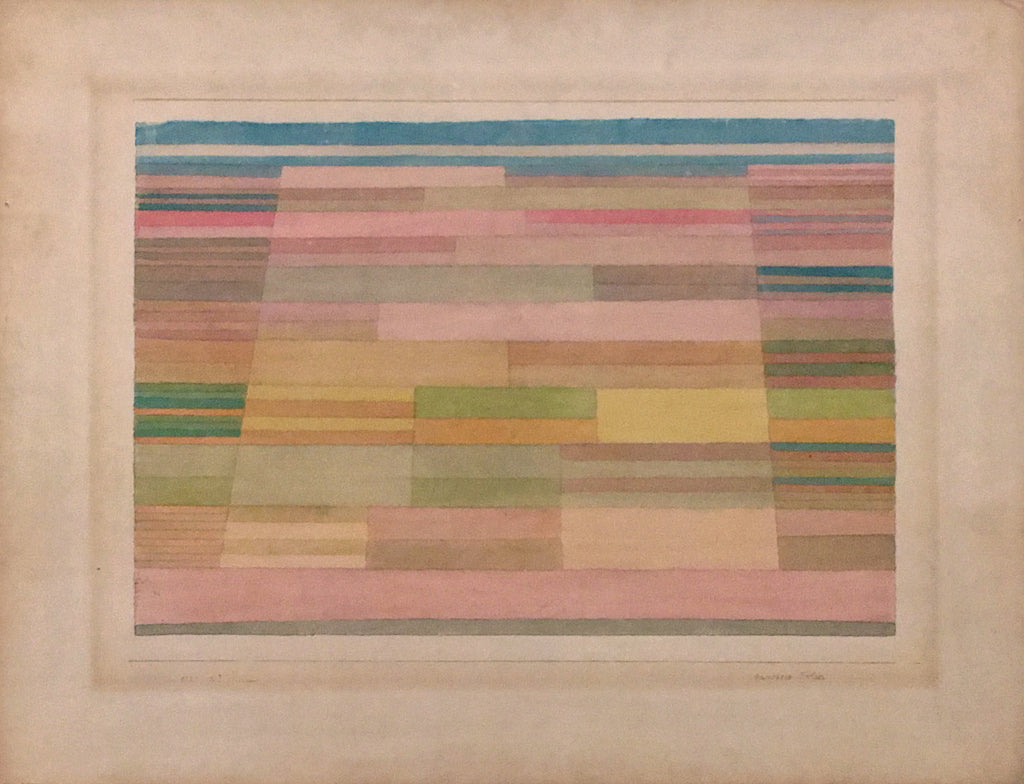 Anni Albers at Tate Modern - Paul Klee Measured Fields