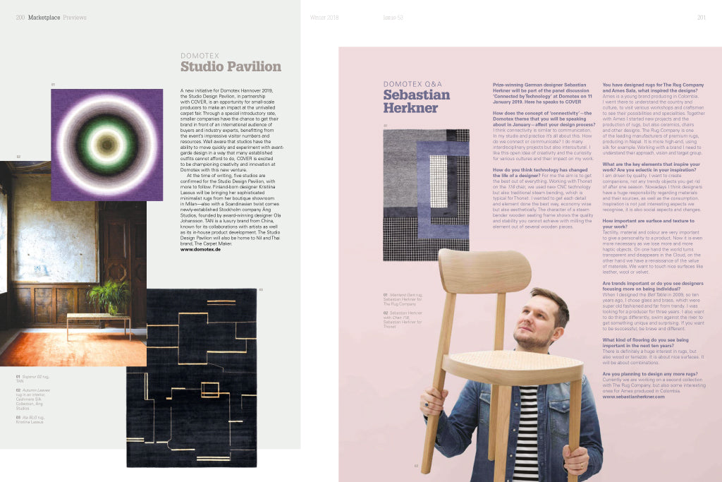 COVER Magazine Issue 53 | Domotex Preview Create N Connect