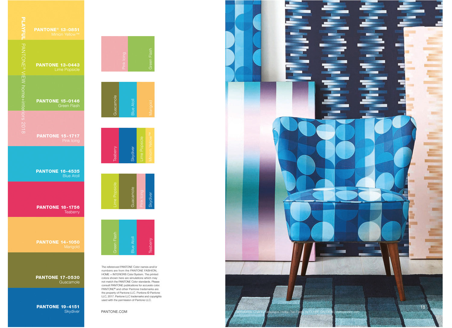Pantone View featuring Claire Gaudion