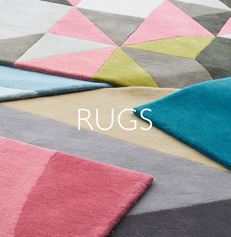 Claire Gaudion contemporary rugs for living room | colourful rugs uk