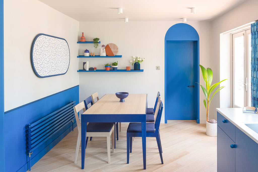 Residential kitchen dining room project by Interior Design Studio, Colour + Shape