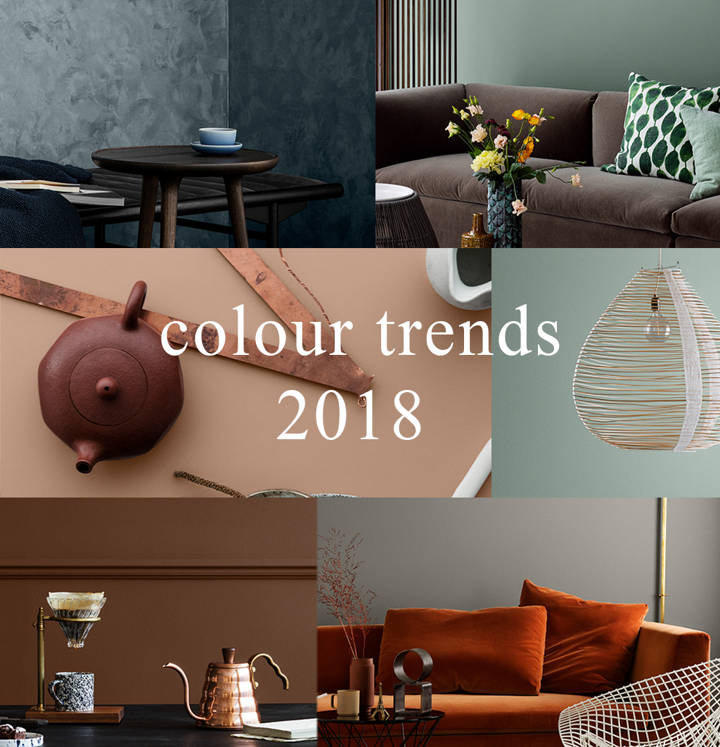 Colour Trends for Interiors 2018 | Colour Predictions | Trend Forecasting
