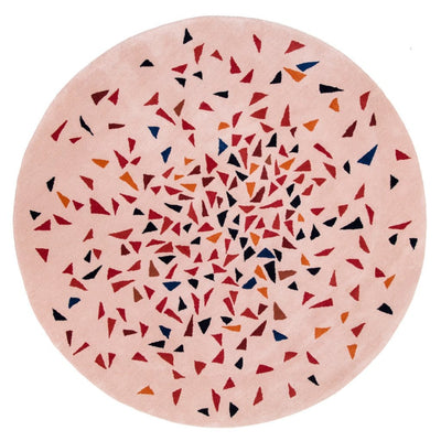 Albecq Round Rug is a playful and colourful rug that will add a unique and joyful feel to any room.