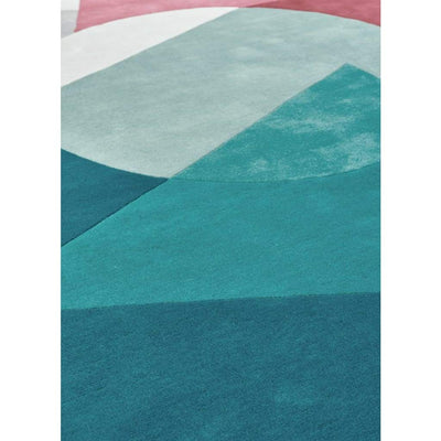La Coupeé Teal Rug - Rugs