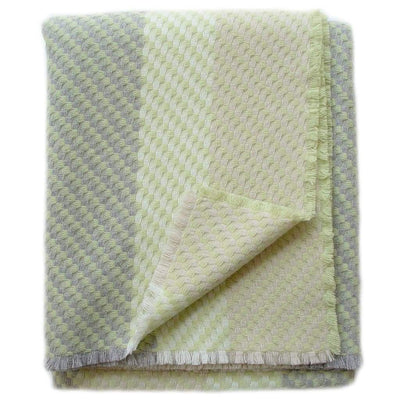 Leaf Green Throw - Blankets & Throws