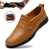 Men's Loafers Breathable Comfortable Genuine Leather