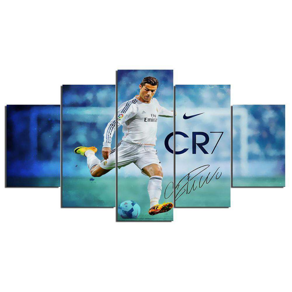 5 PCS Modern Artwork Football - Artisary