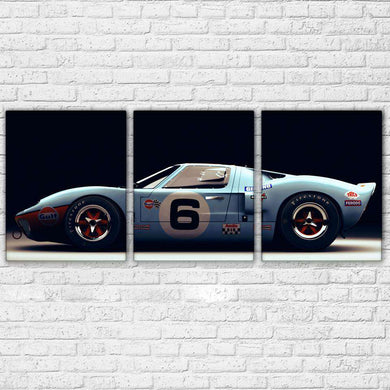 3 Pieces Luxury Sports Car - Artisary