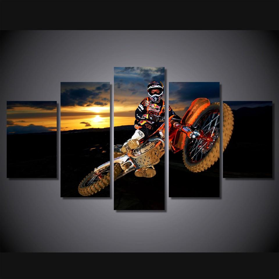 5 Pcs/Set Best Action Motocross Sports