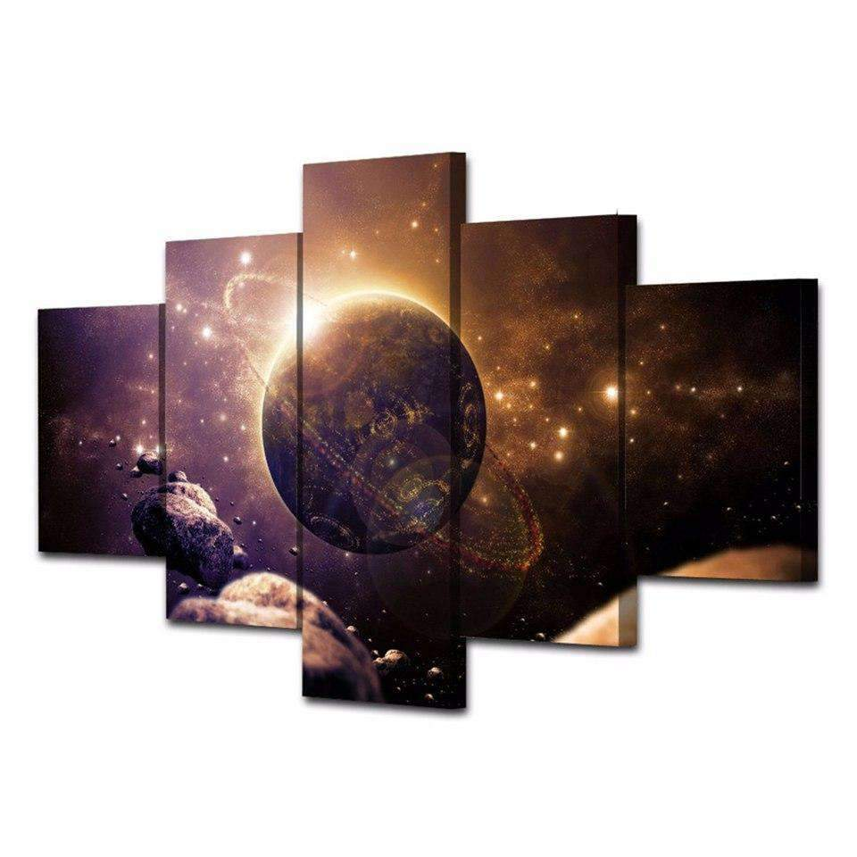 5 Pieces Planet Of The Universe