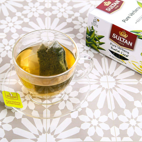 pure verbena lemon tea