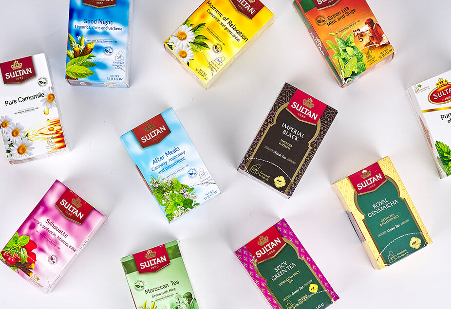 Flavoured Moroccan Loose Teas