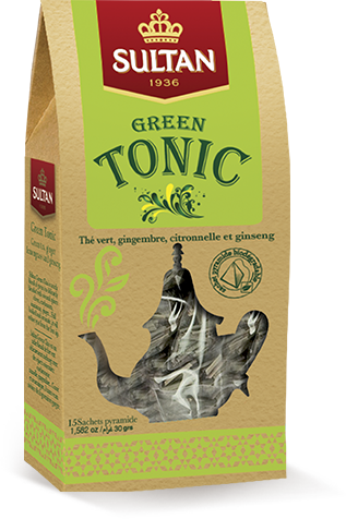 green tonic tea