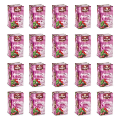 Silhouette Cherry, Hibiscus, Anise, Mint and Licorice Tea - 20 Tea Bags Bulk Buy