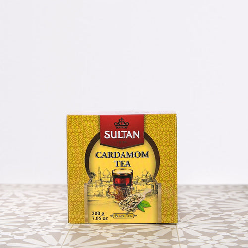 Cardamom Loose Black Tea 200g