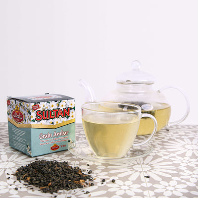 Ambar Loose Tea with Orange Blossom 150g