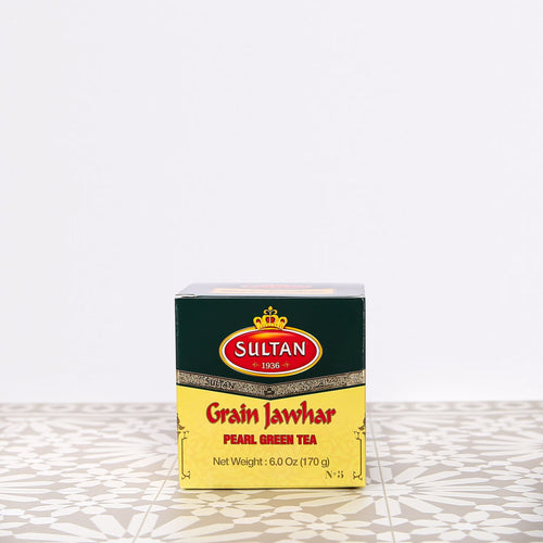 Grain Jawhar Pearl Loose Green Tea 170g