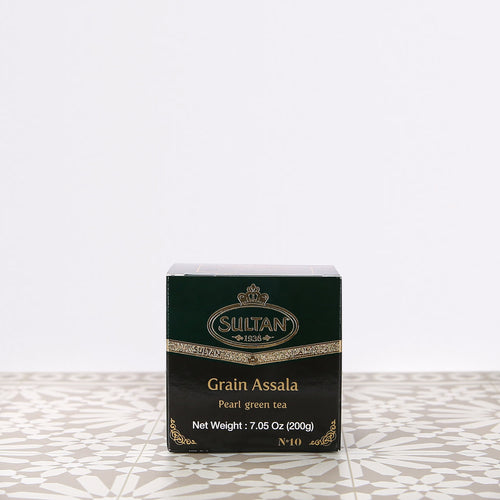 Grain Assala Gunpowder Loose Green Tea 200g