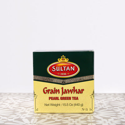 Grain Jawhar Pearl Loose Green Tea 440g