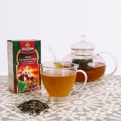 Loose Chaara Tea Leaves with Mint & Sage 100g