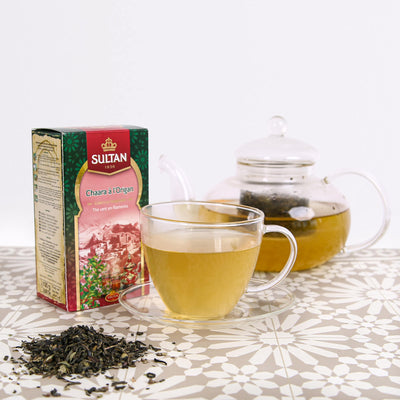 Chaara Filament Loose Green Tea With Oregano 100g