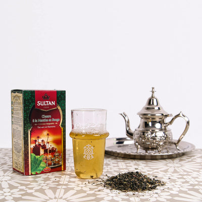 Chaara Filament Loose Green Tea With Mint And Sage 100g