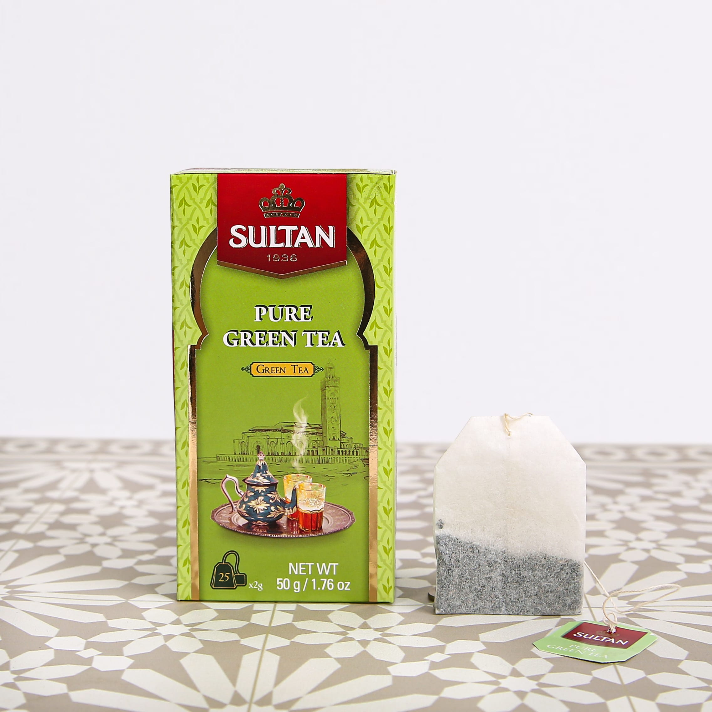 Pure Green Tea - 25 Tea Bags