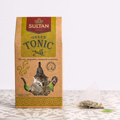 Green Tonic - 15 Pyramid Tea Bags
