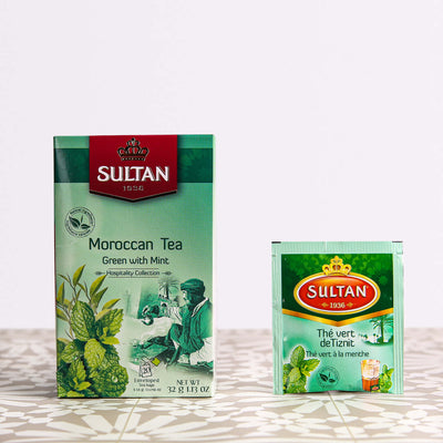 Authentic Moroccan Tea - 20 Tea Bags