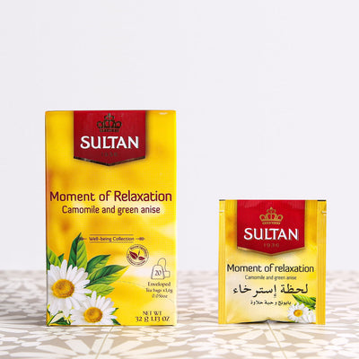 Moment of Relaxation Camomile and Green Anise Tea - 20 Tea Bags