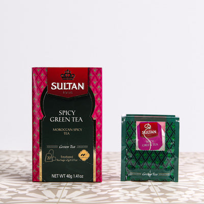 Spicy Green Tea - 20 Tea Bags