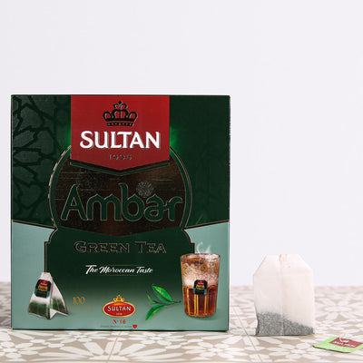 Ambar Green Tea - 100 Tea Bags