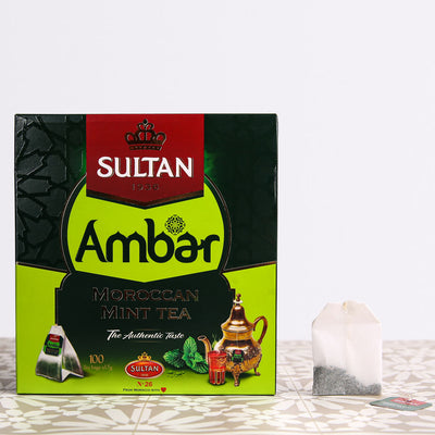 Ambar Green Tea - 100 Tea Bags Tea Bag Bundle