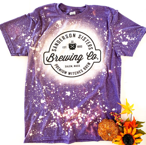 Sanderson Brewing Co. Purple Tee