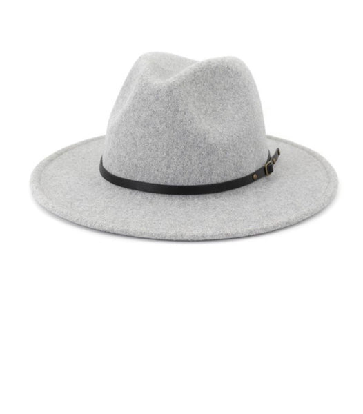 Thin Belt Felt Fedora + colors