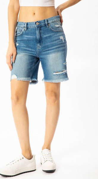 Relaxed Fit Bermuda Shorts