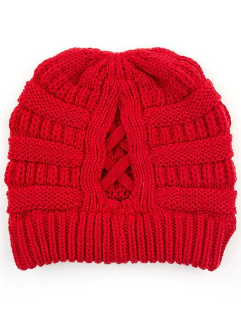 Criss Cross CC Beanie (5 Colors)