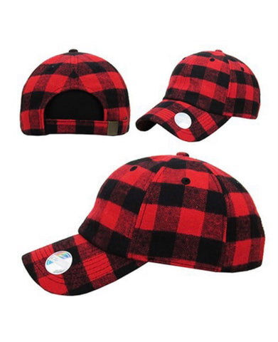 Buffalo Plaid Hat (2 colors)