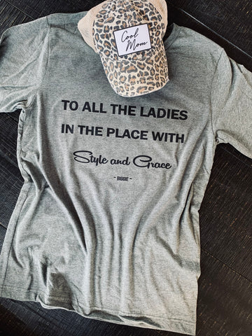 To All The Ladies In The Place (Biggie Tee)