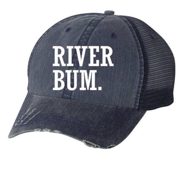 RIVER BUM hat +colors