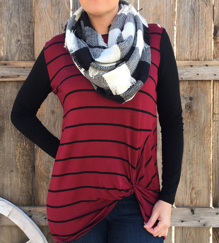 BUFFALO PLAID SCARVES +colors