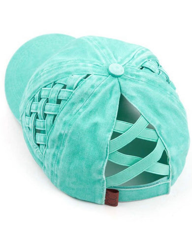 CC Basket Criss Cross Hat (+ color options)