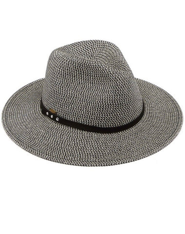Paper Straw Panama Hat (2 colors)
