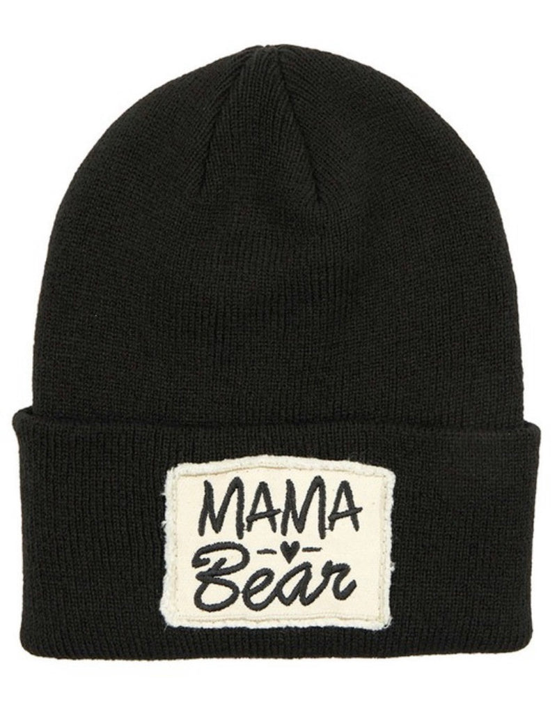 Mama Bear Patch Beanie