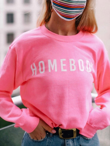 Homebody Pink Sweatshirt