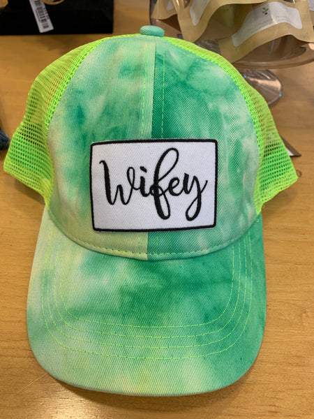 Wifey Hat (additional color options)