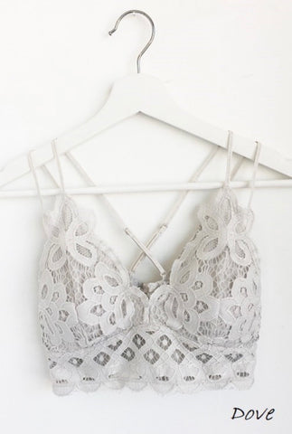 Dove Lace Bralette
