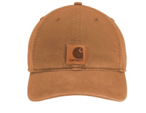 Carhartt Brown Canvas Hat